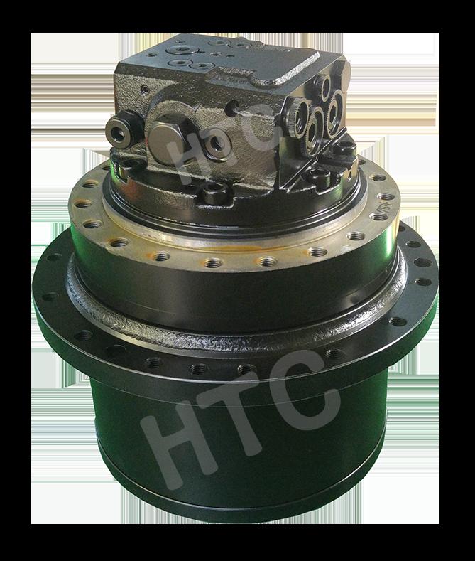 hydraulic piston travel motor assembly