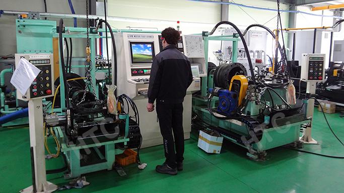 hydraulic motor test stand